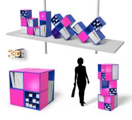 Design produit Cube de rangement