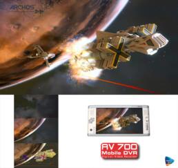 Création d'illustrations de vaisseaux spaciaux en 3D