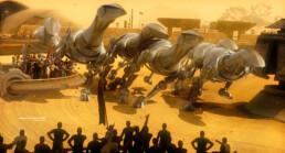 Création d'illustrations type science fiction en 3D