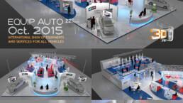 Salon Equip Auto - Stand Autodistribution 400 m2 - Client: Megapremium