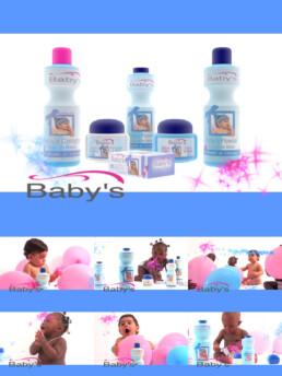 Publicité Baby's et Packshot produit