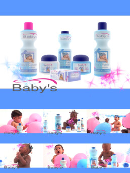 Packshot 3D Baby's des Parfumeries Gandour