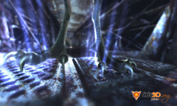 Animation d'un monstre en 3D