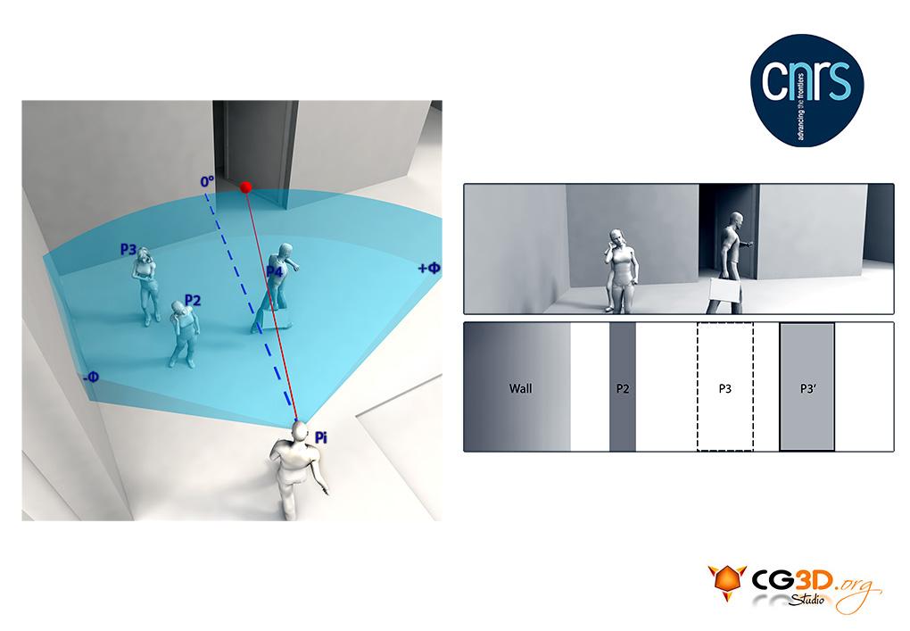 Client : CNRS (Centre National de Recherche Scientifique)   Illustration Scientifique en 3D