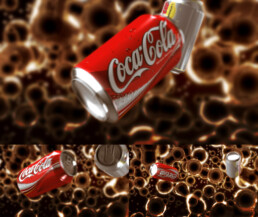 Animation 3D Coca-Cola | Agence : Publicis