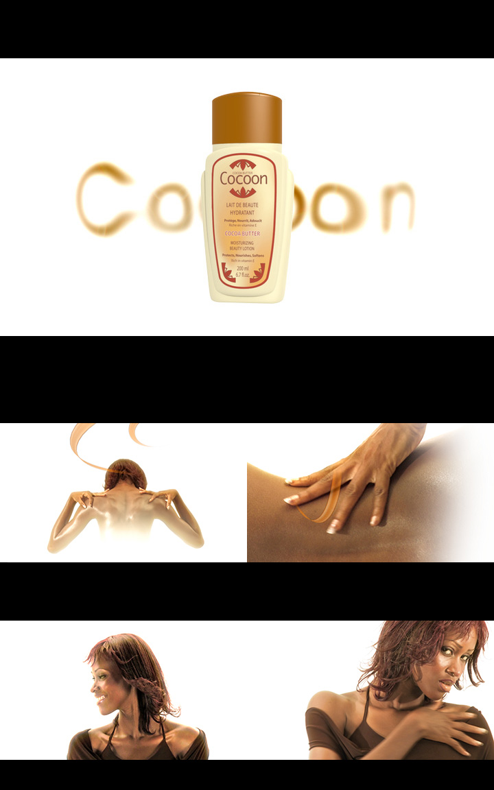 Animation 3D Cocoon des Parfumeries Gandour