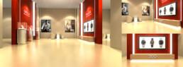 Modélisation 3D d'un corner shop pour Omega