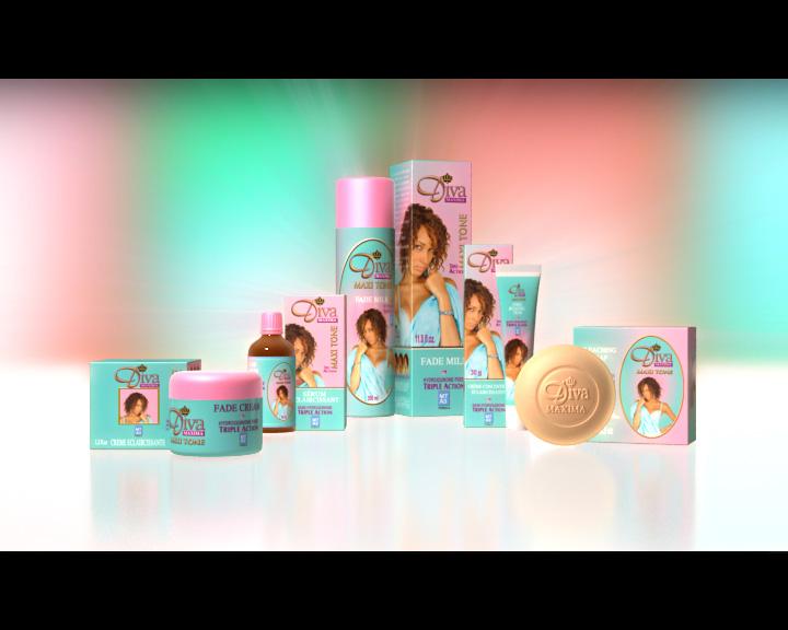 Packshot 3D Diva des Parfumeries Gandour