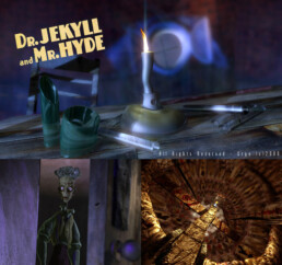 Jeu Vidéo Dr Jeckyll and Mr Hyde (Sony Playstation) | Infographiste 3D