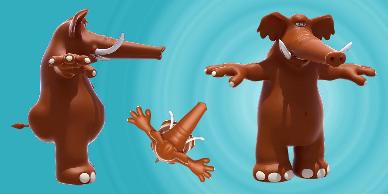 9213c6f3292 elephant modele 3d · infographiste mascotte 3d yacco ·  cartoon infographiste 3d freelance mtv show
