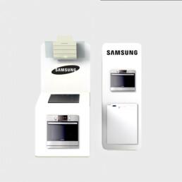 Concepteur de meubles de présentation pour appareils de cuisines