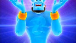 personnage 3d genie