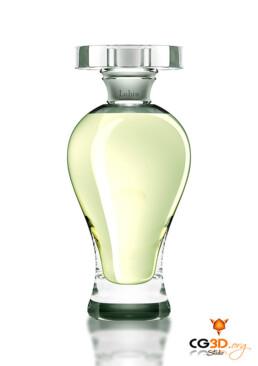 Parfum Gin Fizz de Lubin en infographie 3D