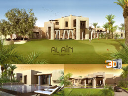 Hotel Royal Palm Maroc   perspective 3d architecture