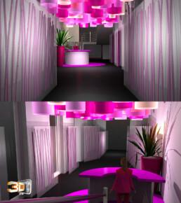 Client: Agence ICD | Création de roughs 3D