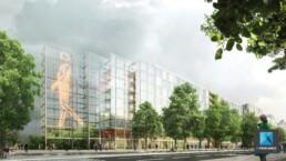 image 3d concours architecture - bâtiment