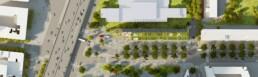 plan de masse - image 3d concours