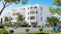infographiste 3d architecture freelance Perpignan - perspective résidence