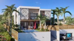 perspective 3D villa - infographiste architecture - Nouméa Nouvelle-Calédonie
