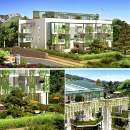 Client: Entrevert | Agence: LFC | architecture 3 d