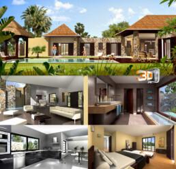 Résidence Balinéa (Ile Maurice) | Images de Synthese 3D