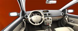 Tableau de bord de la Renault Megane | Rendus 3D
