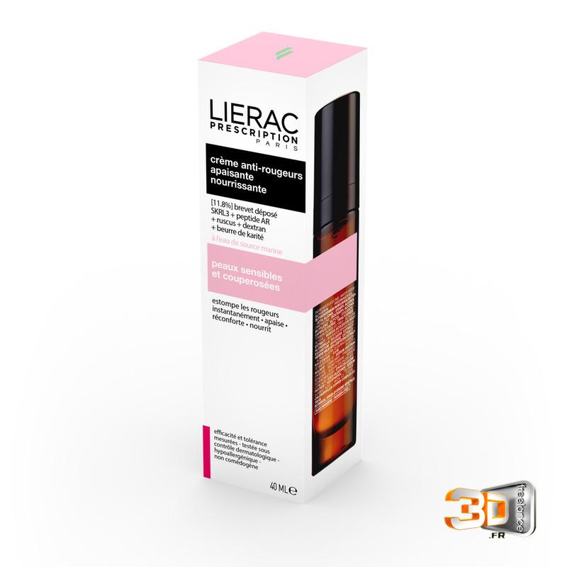 Designer produits cosmetiques Lierac