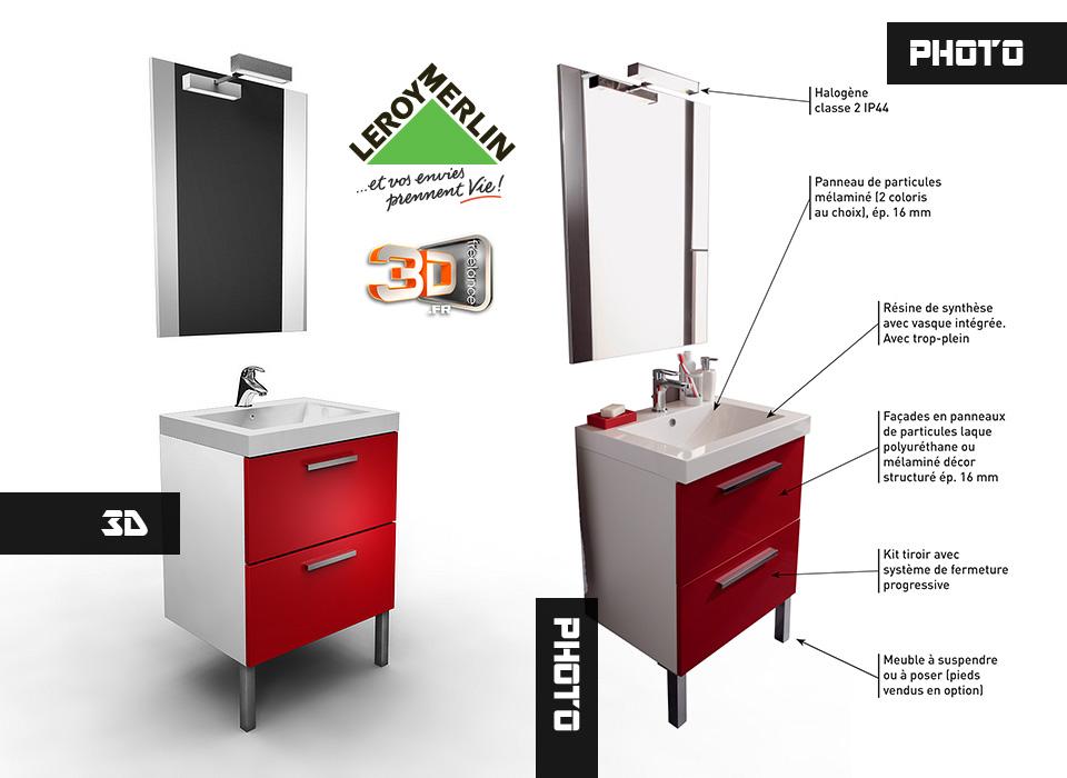 Modélisation 3D et Design de meubles