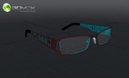 perspective 3d lunette