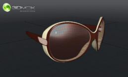 photo 3d lunette