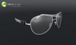 modele 3d lunette