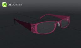 modelisation 3d lunettes