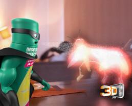 ORO le personnage modelisé en 3D