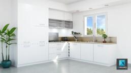 image 3d cuisine - perspective 3d cuisine