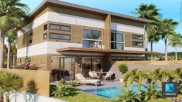 perspective 3d villa - freelance architecture Nouméa