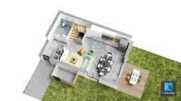 plan de vente 3d architecture appartement Haute-Savoie Auvergne-Rhône-Alpes