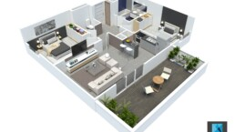 plan de vente appartement t3