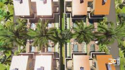 Résidence de vacances en 3D - Albion (Ile Maurice) | Infographiste Architecture