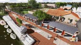 Salles de conférences | Image 3D Architecture