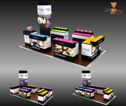 Conception d'un Corner Shop en images de synthèse
