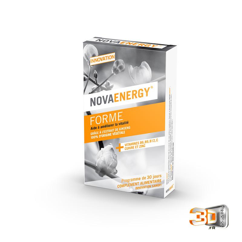 Packaging produit Novaenergy