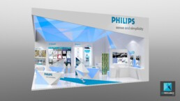 stand philips - perspective 3d