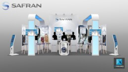 stand safran - conception de stands