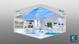 stand salon philips - designer freelance