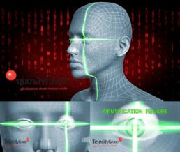 Animation 3D HD pour le salon de la Biometrie