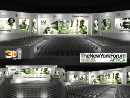 The New York Forum Africa | Client: The Experience New York | Scénographie