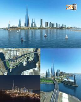 Ville de Jeddah en 3D | infographiste architecture
