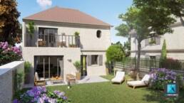infographiste 3d architecture freelance - immobilier résidentiel Isle-Adam