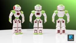 image 3d robot - mascotte robot