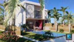 image 3D de villas - Nouméa, Nouvelle-Calédonie